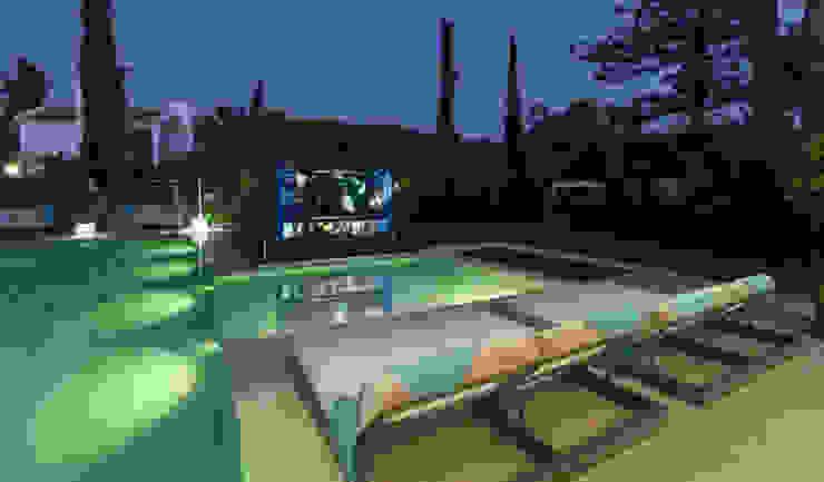 Marbella Villa Principioattivo Architecture Group Srl Piscina moderna