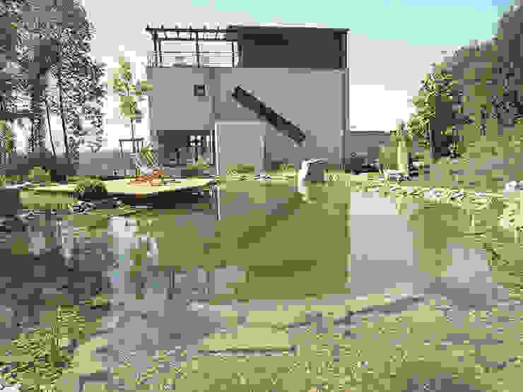 Kräftner Landschaftsarchitektur Jardines modernos: Ideas, imágenes y decoración