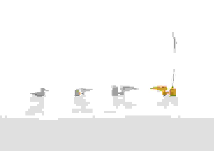 Eva - vase Jochem Kruizinga SoggiornoAccessori & Decorazioni Ceramica Giallo