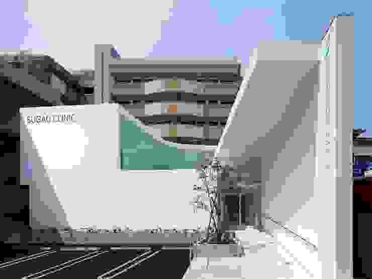 外観 モダンな医療機関 の 有限会社Y設計室 モダン