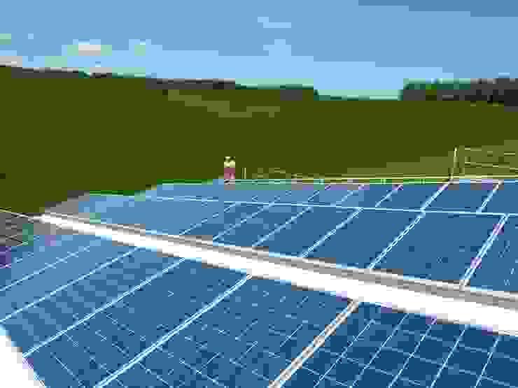 Photovoltaik - Strom von der Sonne: modern  von Solarsysteme Sachsen GmbH,Modern
