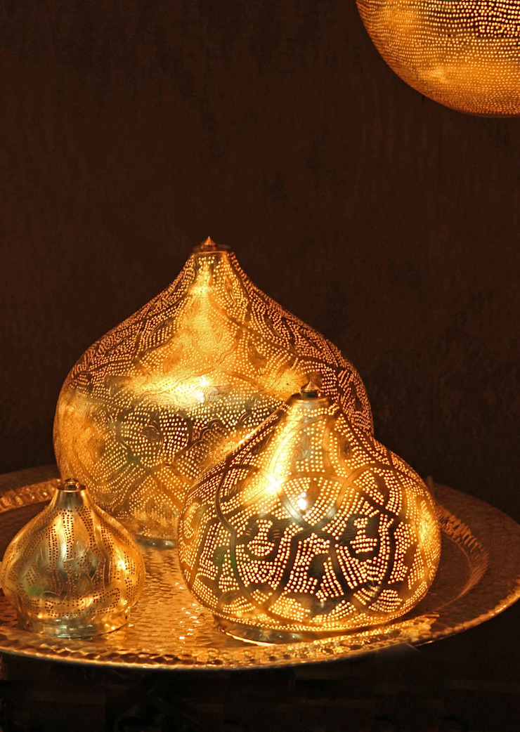 Amun best of Orient GmbH Living roomLighting Copper/Bronze/Brass Metallic/Silver