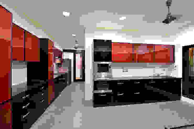 Kitchen Minimalist kitchen by ARK Reza Kabul Architects Pvt. Ltd. Minimalist