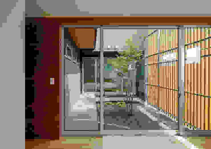 平塚の家 モダンな庭 の 萩原健治建築研究所 モダン