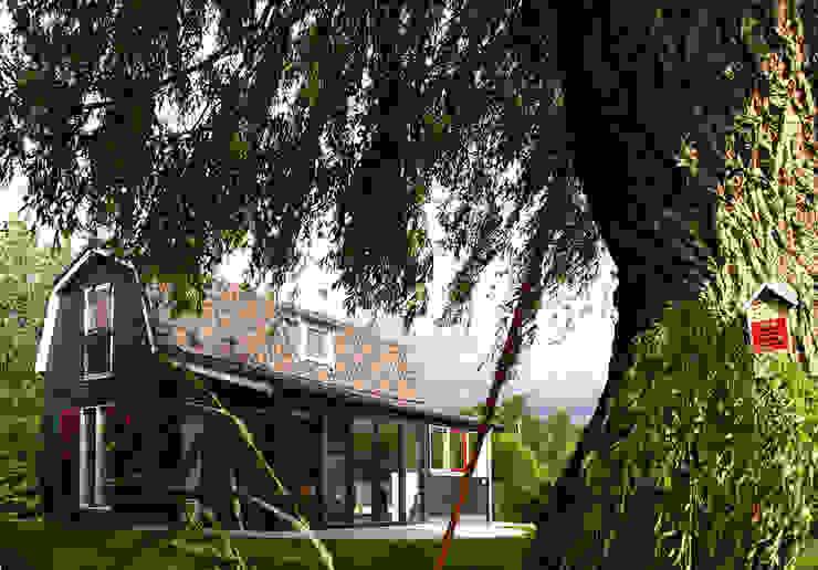 Zomerhuis Reeuwijk Landelijke huizen van Architectenbureau Rutten van der Weijden Landelijk Hout Hout