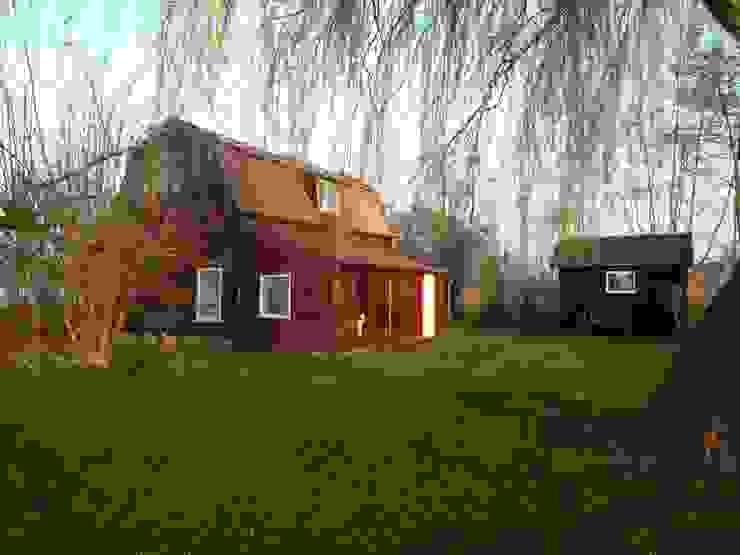 Het huis vóór de vernieuwbouw. van Architectenbureau Rutten van der Weijden Landelijk