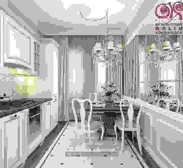 Современная идея дизайна кухни-столовой в квартире Кухня в классическом стиле от Olga's Studio Классический