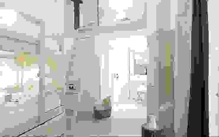 The hat Dormitorios de estilo minimalista de aaprile Minimalista