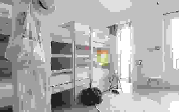 Projekty,  Sypialnia zaprojektowane przez aaprile, Minimalistyczny