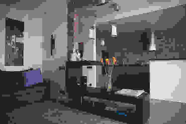 Дизайн интерьера в индустриальном стиле Гостиная в стиле лофт от Designer Olga Aysina Лофт