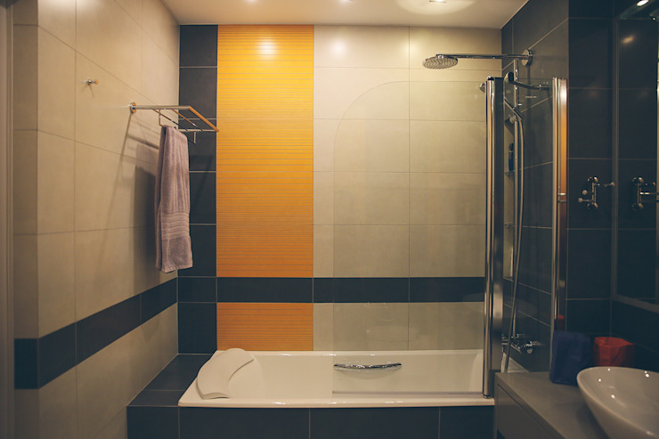 Industriële badkamers van Designer Olga Aysina Industrieel