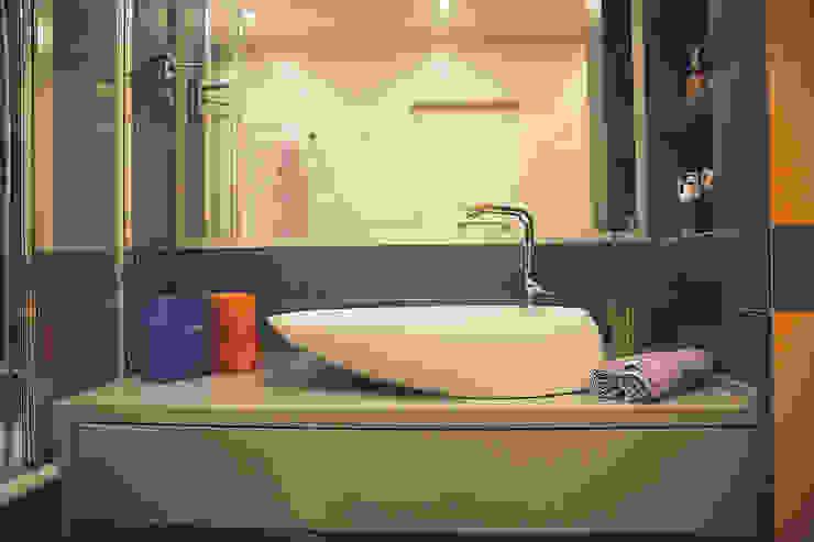 Дизайн интерьера в индустриальном стиле Ванная в стиле лофт от Designer Olga Aysina Лофт