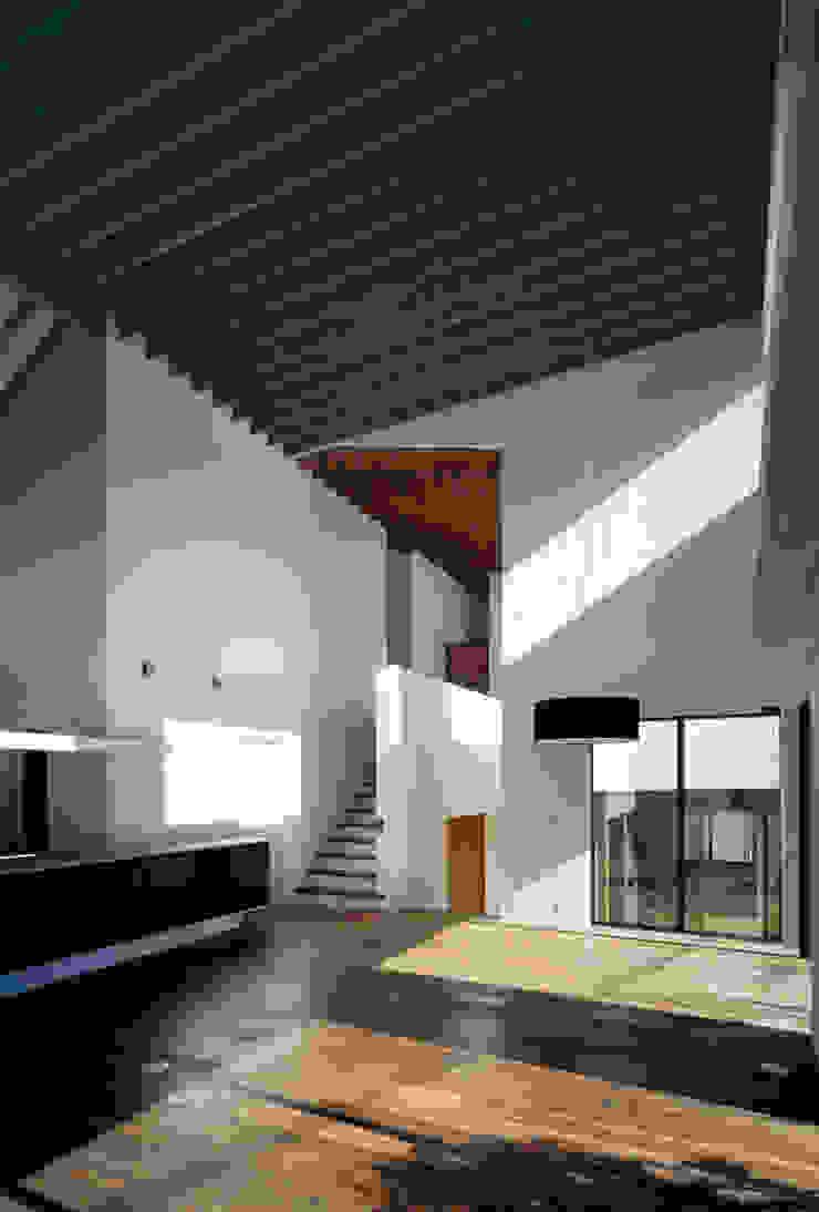 神木本町の家 モダンデザインの ダイニング の 向山建築設計事務所 モダン
