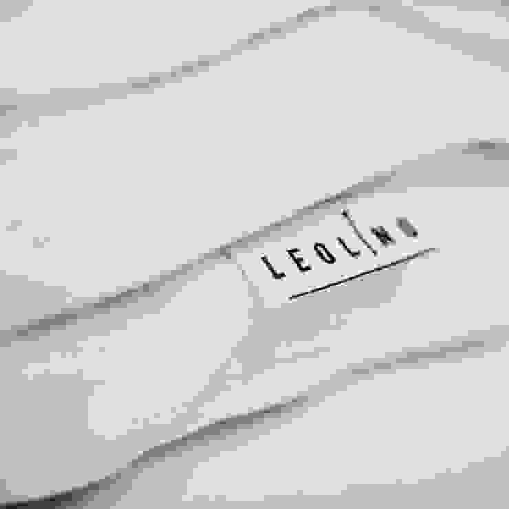 Leolino 臥室布織品 亞麻織品 White