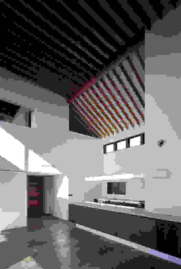 神木本町の家 モダンな キッチン の 向山建築設計事務所 モダン