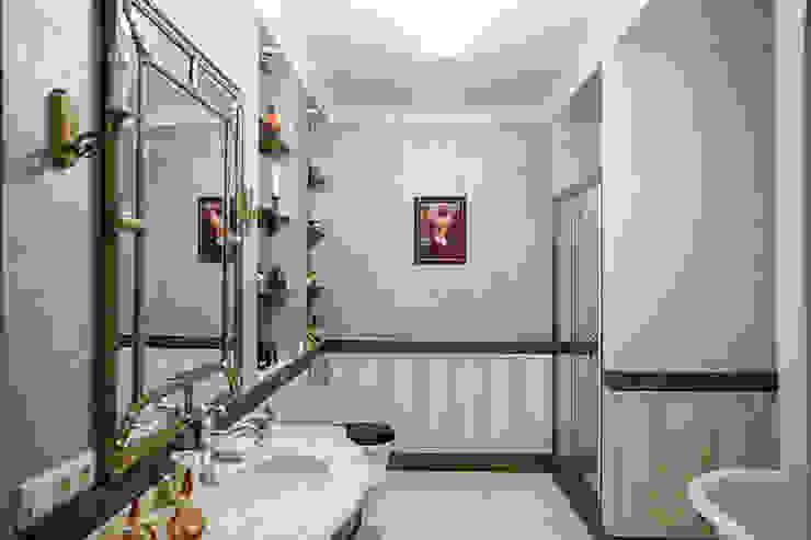 Дворянский особняк: Ванные комнаты в . Автор – Designer Olga Aysina