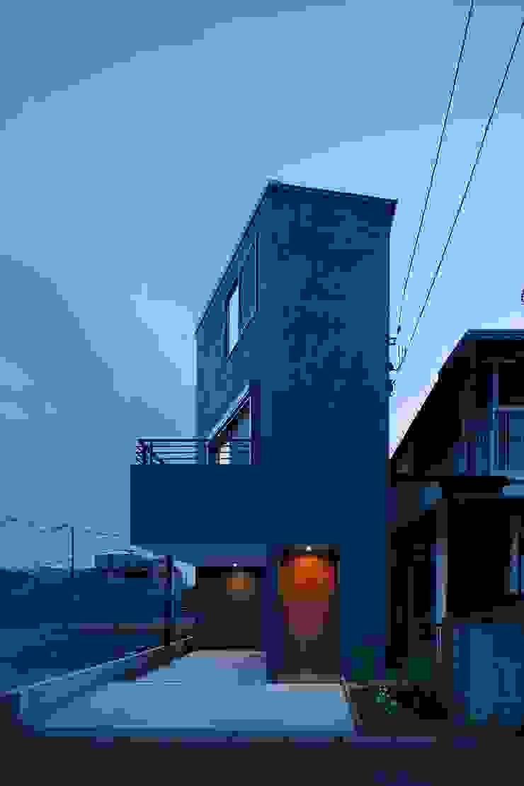 高津の家 向山建築設計事務所 モダンな 家