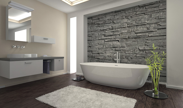Modern bathroom by PietraNova srl Modern