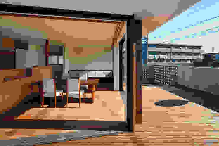 Modern Garden by 向山建築設計事務所 Modern