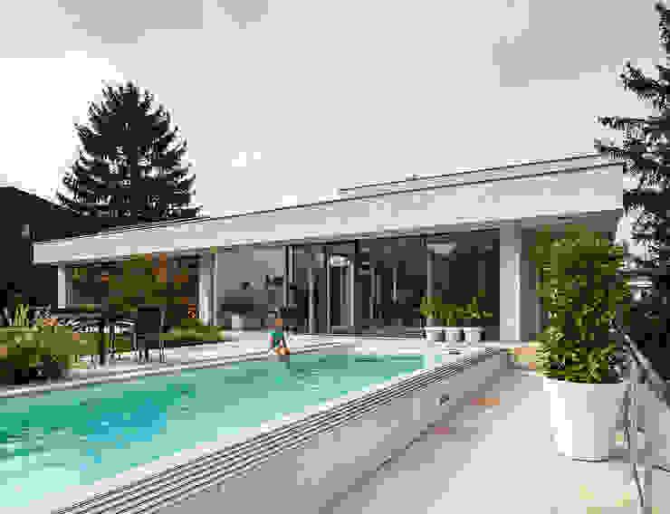 Piscinas modernas por Studio Berner.Stolz Architekten ZT-OG Moderno