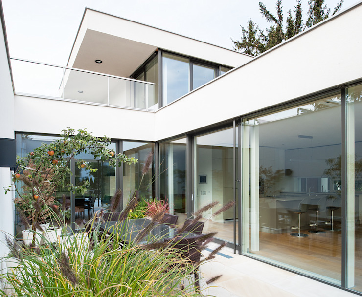 Projekty,  Ogród zimowy zaprojektowane przez Studio Berner.Stolz Architekten ZT-OG,
