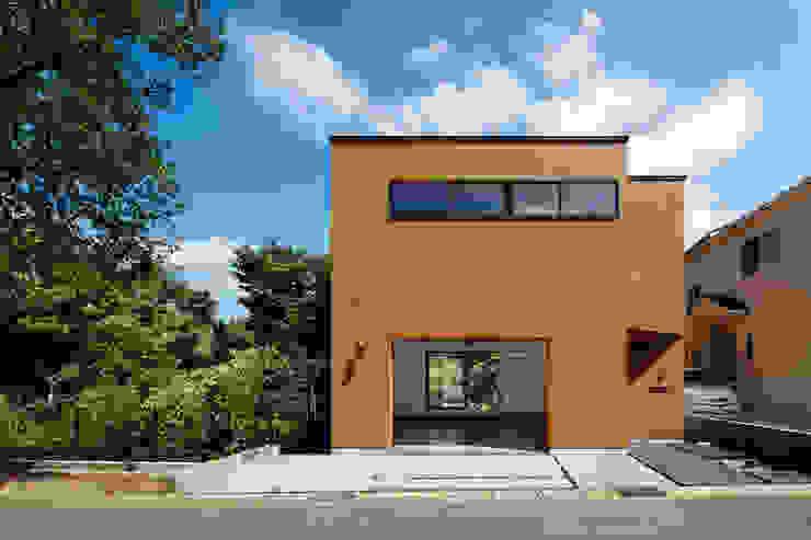 玉縄台の家: 向山建築設計事務所が手掛けた家です。,