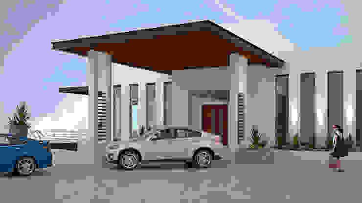 CASA SAAVEDRA Casas minimalistas de Design Arquitectos Minimalista Metal