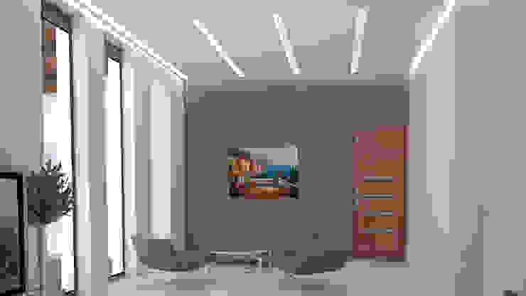 CASA SAAVEDRA Dormitorios modernos de Design Arquitectos Moderno