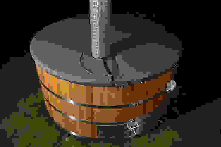 Stainless steel hot tub Cedar Hot Tubs UK Spa