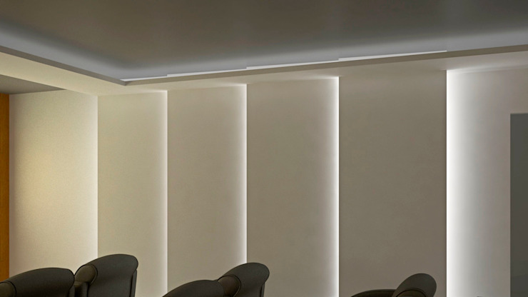 CASA SAAVEDRA Salas multimedia modernas de Design Arquitectos Moderno