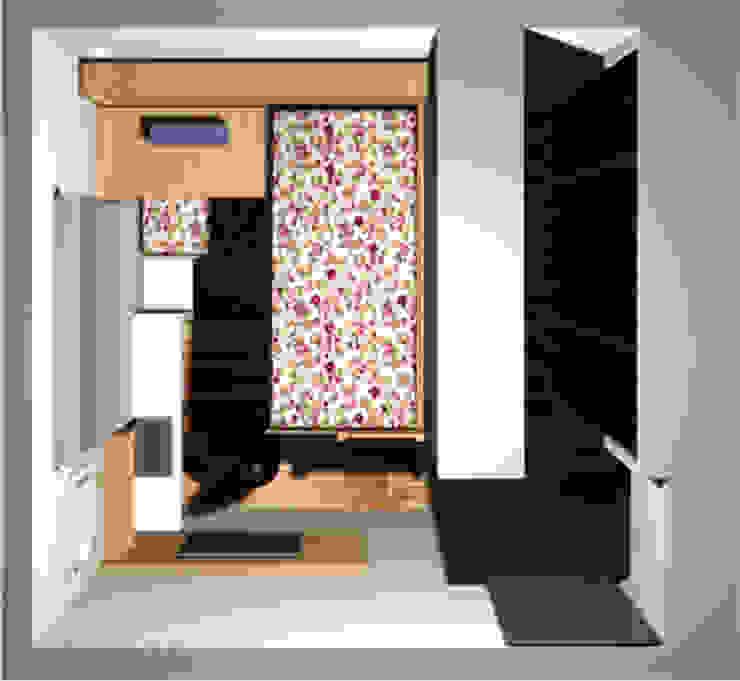 quarto para duas irmãs por Margareth Salles