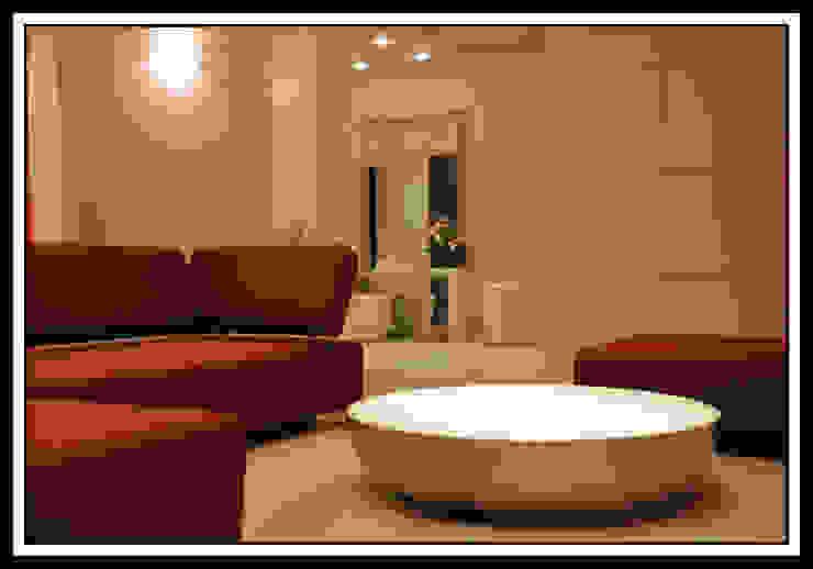 Квартира на Ульянова Гостиная в стиле минимализм от Дизайн-студия «ARTof3L» Минимализм