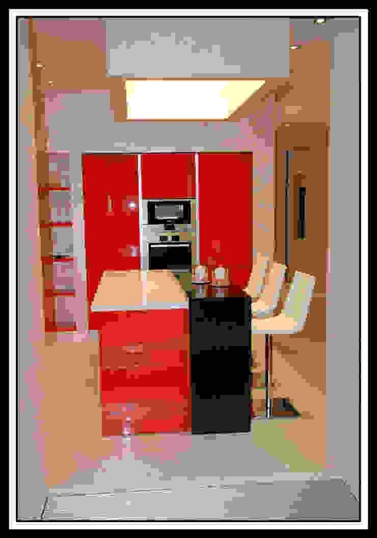 Квартира на Ульянова Кухня в стиле минимализм от Дизайн-студия «ARTof3L» Минимализм