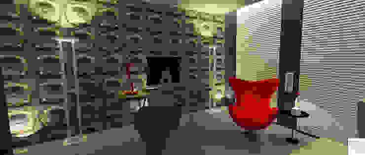 O consultório da sexóloga por Rangel & Bonicelli Design de Interiores Bioenergético