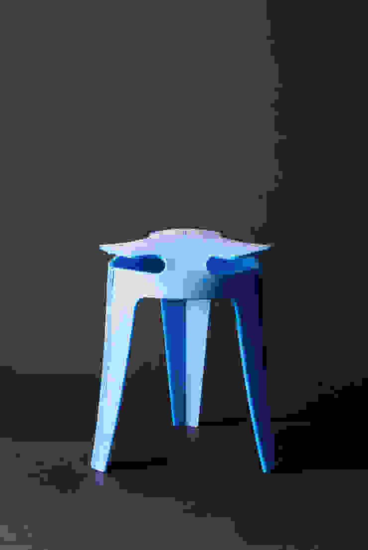 Weld Stool: modern  door Studio Joris de Groot, Modern