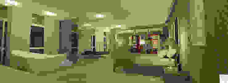 Suíte do Casal Quartos modernos por Rangel & Bonicelli Design de Interiores Bioenergético Moderno