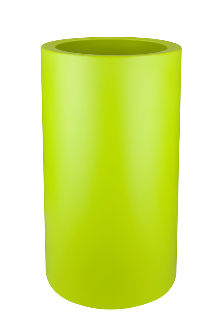 PURE CILINDER HIGH 40 LIME GREEN de Elho México Minimalista Plástico