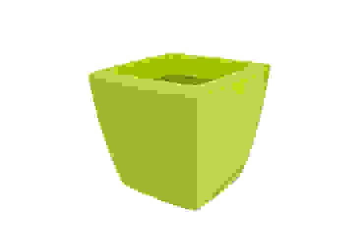 PURE SOFT SQUARE WHEELS 40 LIME GREEN de Elho México Minimalista Plástico