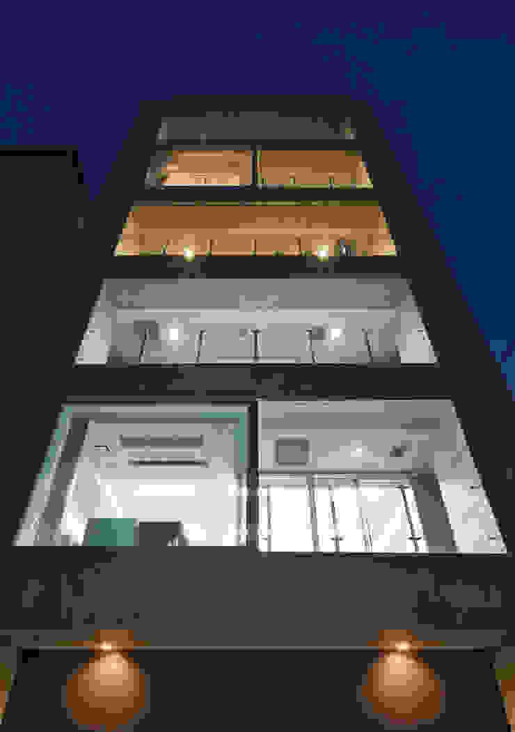 外観 モダンな 家 の K2・PLAN 株式会社本多建築設計事務所 モダン 石