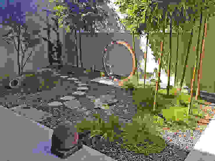 Jardin Principal Jardines modernos: Ideas, imágenes y decoración de Terra Moderno