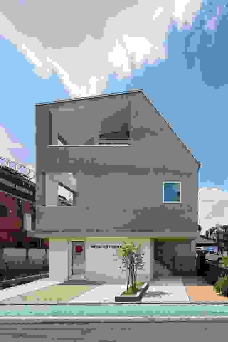 三鷹の家 モダンな 家 の 向山建築設計事務所 モダン