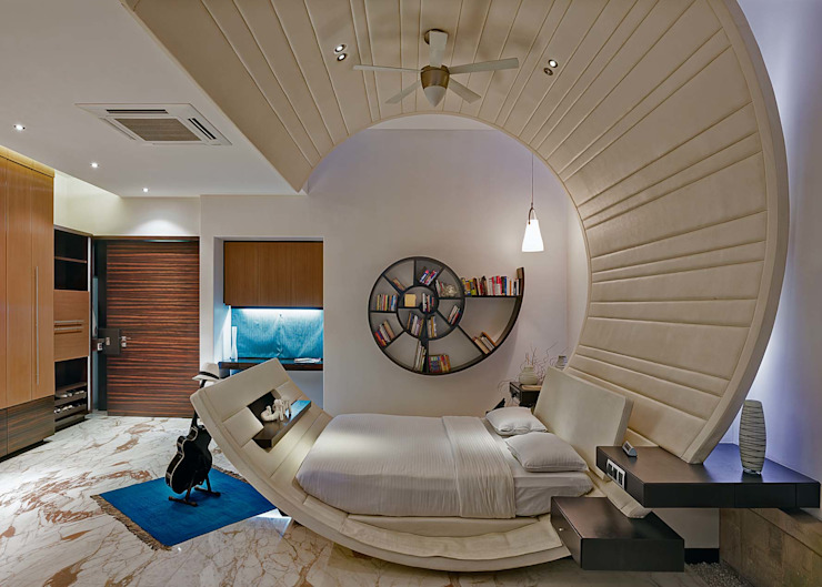 Bedroom by TAO Architecture Pvt. Ltd.