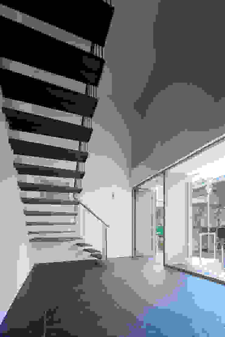 Y flat モダンデザインの 多目的室 の 向山建築設計事務所 モダン