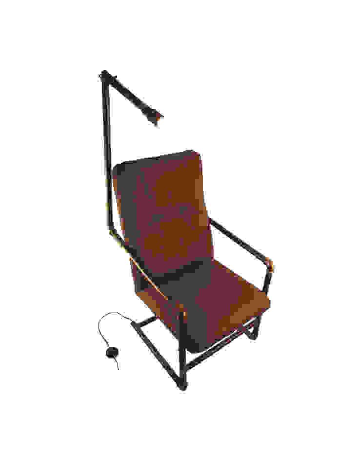 Fotel Industrialny od Rekoforma Industrialny Matal