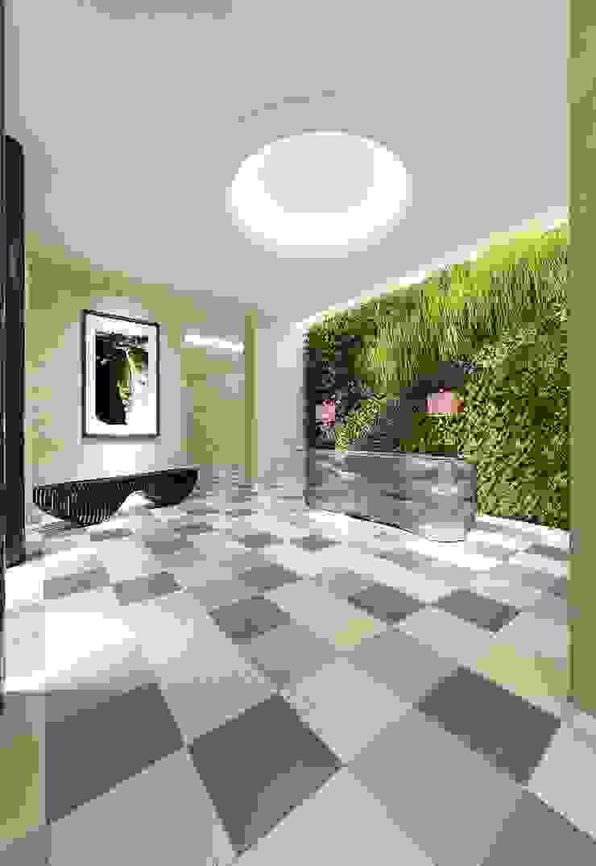 Moderner Flur, Diele & Treppenhaus von Cer Vogue Modern Fliesen