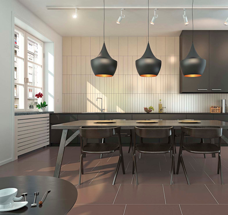 Moderne Küchen von Cer Vogue Modern Fliesen