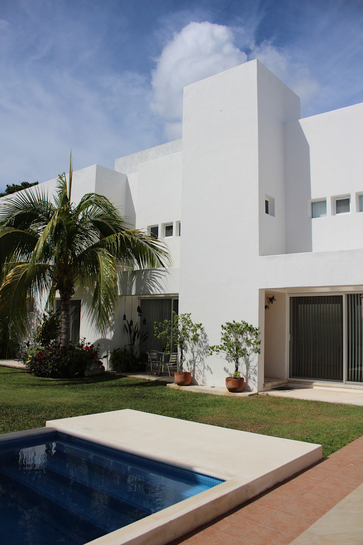 Casa habitacion en en Cozumel Quintana Roo Casas minimalistas de A2 HOMES SA DE CV Minimalista