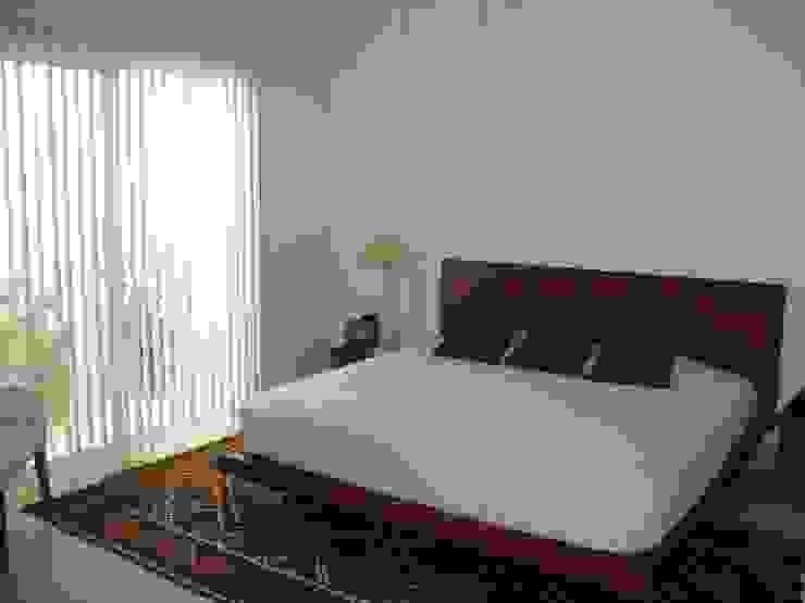 Casa habitacion en en Cozumel Quintana Roo: Recámaras de estilo  por A2 HOMES SA DE CV, Minimalista