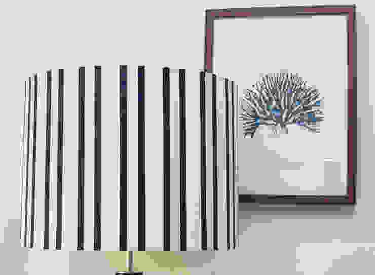 ORCHIDS LOFT by Alexandra Pedro Corridor, hallway & stairsLighting Cotton Blue