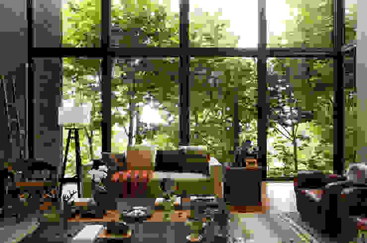 João Armentano Arquitetura Living room